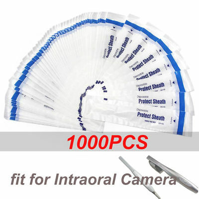 1000PCS Dental Disposable Sleeve Sheath Cover for Intraoral Camera UK STOCK