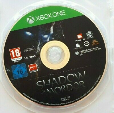 Middle Earth Shadow of Mordor    -  Microsoft Xbox One Game