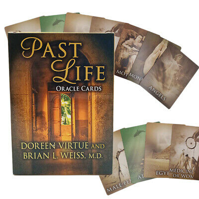 US STOCK Life Purpose Oracle Tarot Cards by Doreen Virtue Full 44 Card Deck Tool