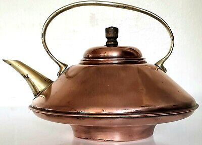 Benham & Froud arts & crafts copper brass spirit kettle