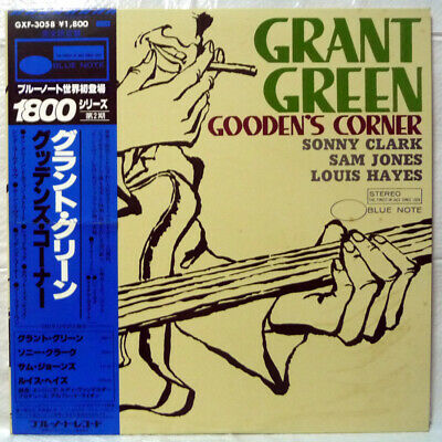 Grant Green - Gooden's Corner Blue Note Gxf 3058 Stereo Japan Lp W/ Obi  Vinyl