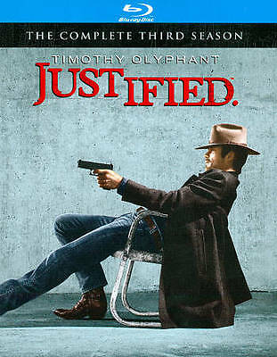 Justified: The Complete 3 THREE Third Season Blu-ray NEW, SEALED