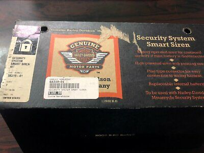 Brand New Harley-Davidson Security System Smart Siren Kit Softail OEMPN 68319-01