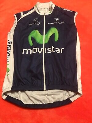 Team Movistar Weste ,,3-M,,Nalini Pro Original Tour Team