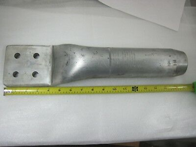 Afl's  Dossert New Large Substation Connector Aluminum See Pictures Loc.  I-15