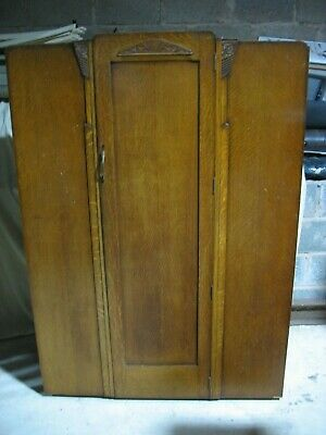 """LARGE WIDE RETRO VINTAGE WARDROBE made by LEBUS 47"""" x 65"""" x 17"""" + can deliver"""