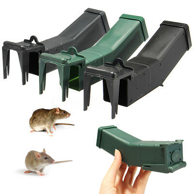 1 X Reusable Humane Mouse Traps Mice Pest Rodent Catcher Control Non Lethal New