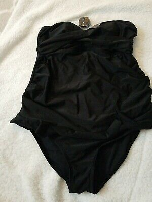 Womens Black Maternity 1-piece  swimsuit Isabel Beach New without tag
