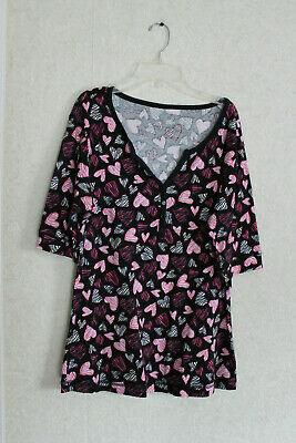 Women's Jasmine and Ginger PJ Top Size XL