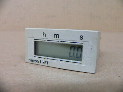 Omron H7Et-B1 Time Totalizer No Vt.input .0-99H 59M 59.9S 7Dig