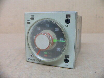 Omron Timer H3BF-8 Used #36483