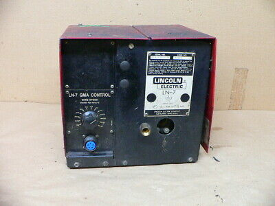 Lincoln Electric Gma Ln7 Ln-7 Wire Feeder Welding Welder