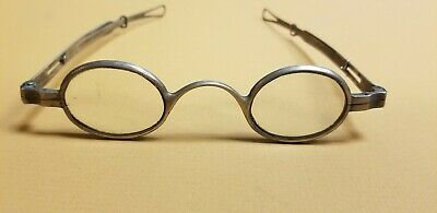 1700'S 1800'S A G Peck Coin Silver Spectacles Eye Glasses  Steam Punk