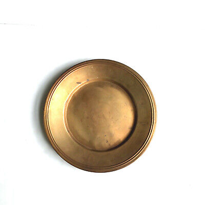 """Pottery Barn Copper Heavy Charger Decorate Plate Made in Turkey 14.5"""""""