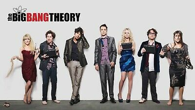 The Big Bang Theory TV Series Movie Poster Glossy A4 A3 A2 A1 A0