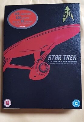 Star Trek: The Movies 1-10 (Box Set) DVD brand new and sealed