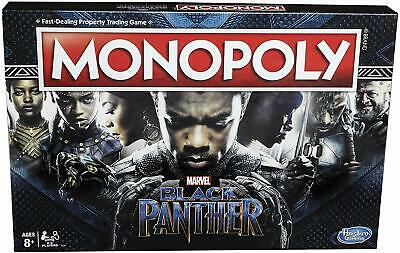 Black Panther Edition Monopoly Board Game Hasbro