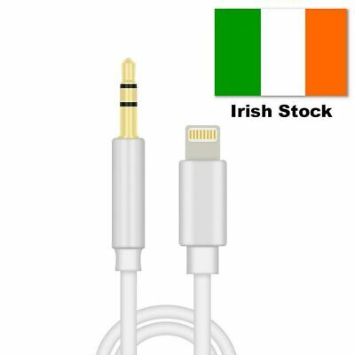 Lightning to 3.5mm Jack AUX CAR Audio Adapter Cable for iPhone - Work on all iOS
