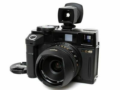 Bronica RF645 Medium Format Rangefinder Film Camera with 45/4 Lens & Viewfinder