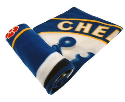 Officially Licensed Chelsea Fc Fleece Blanket 60 Inches X 50 Inches