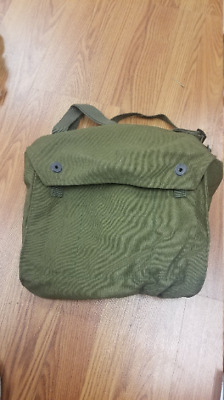 Finnish Gas Mask Bag  Finland Military Surplus Shoulder Satchel