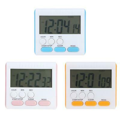 Multi-function Electric LCD Digital Kitchen Timer Alarm Count Up Down Clock #KY