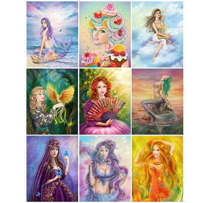 5D DIY Special Shaped Diamond Painting Art Women Cross Stitch Embroidery #KY