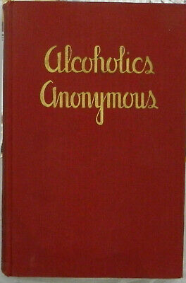 Alcoholics Anonymous 1st Edition 1st Printing 1939 DJ AA Big Book