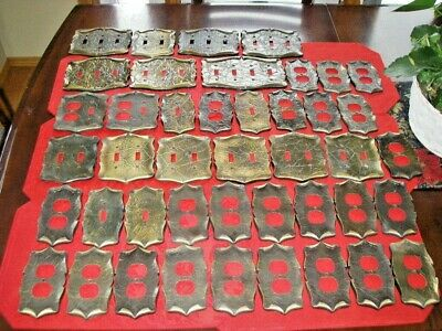 Vintage Lot of 42 Amerock Carriage House Outlet Light Switch Cover Plates