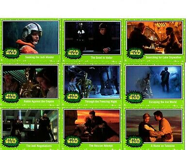 Topps Star Wars Journey to The Rise of Skywalker green parallel lot of 22