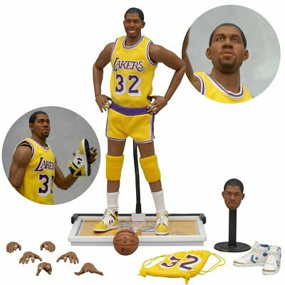 NBA Los Angeles Lakers Earvin Magic Johnson 1:6 Scale Action Figure* PREORDER*