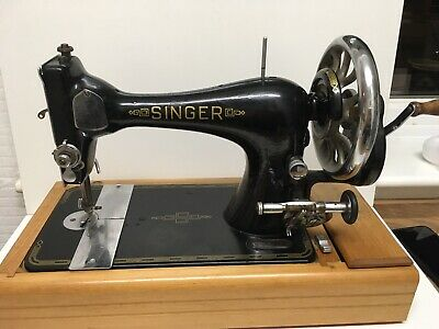Antique Vintage Singer 28k Sawing Machine Serial No. M 294472 Retro Made 1900
