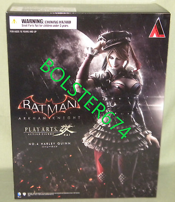 HARLEY QUINN ARKHAM KNIGHT SQUARE ENIX PLAY ARTS KAI #4 ACTION FIGURE