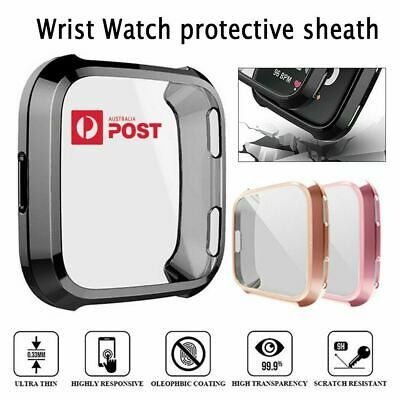 Colorful Silicone TPU Screen Protectorfor Fitbit VersaSoft Shell  New