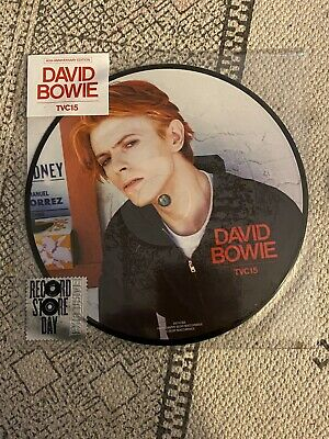 "David Bowie TVC15 40th Anniversary Picture Disc 7"" RSD 2016 NEW SEALED RARE"