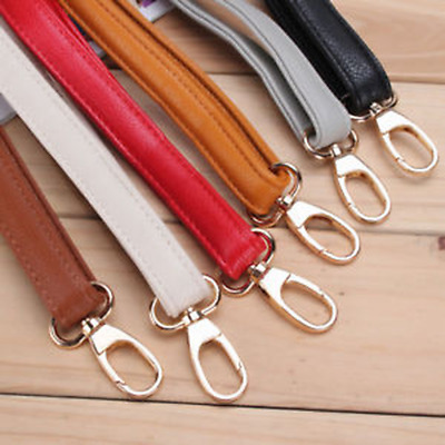 Adjustable DIY Replacement Leather Bag Shoulder Strap Handle Cross 6 Colour Gift