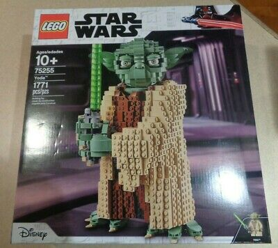 LEGO Star Wars 75255 Yoda Building Model and Collectible Minifigure, 1771 Pieces