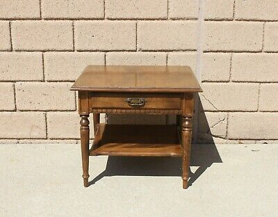 Ethan Allen Classic Manor Maple End Table