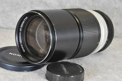 KONICA HEXANON AR 200mm f/3.5 [Excellent+++++] F/S From Japan #K086