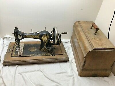 Antique Jones Family C.s Queen Alexandra Sewing Machine (Working) 302518 (Lrg)