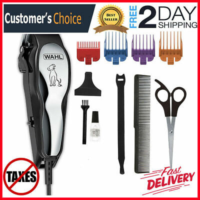 Professional Wahl Clipper Pet Heavy Duty Trimmer Electric Dog Grooming Kit | US