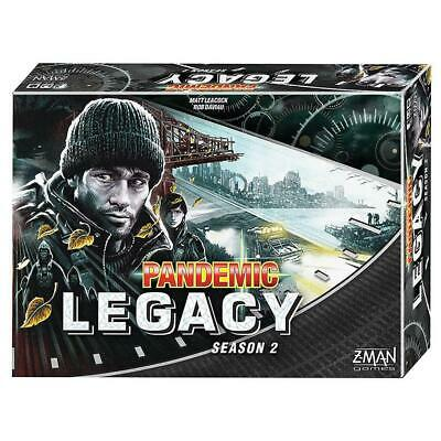 Pandemic Legacy Season 2 Black Edition Board Game Fantasy Flight Games CHOP