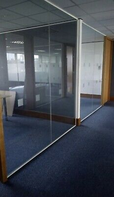 Toughened Glass Partition 12mm Office Partitioning