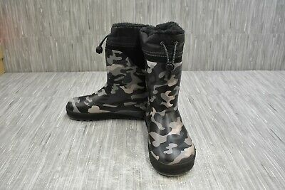 Western Chief Kids Neoprene Camo Boot Black Size 2//3