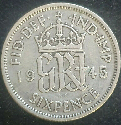 British Pre-Decimal SILVER 6 Pence Coins 1921 - 1945 Choose Your Date
