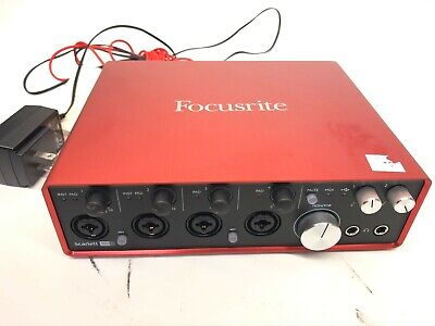 Focusrite Scarlett 18i8 2nd Generation USB Audio Interface.
