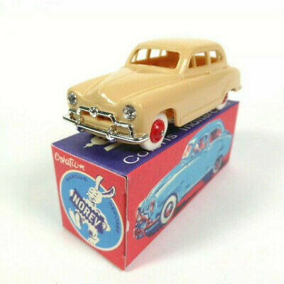 1/43 Norev Simca 9 Aronde 1951 Beige Ancienne Collection Neuf