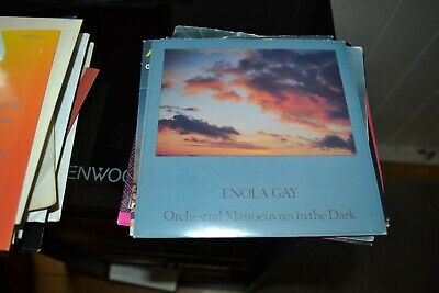 "Orchestral Manoeuvres In The Dark     Enola Gay     7"" Single   Dindisc  Din 228"