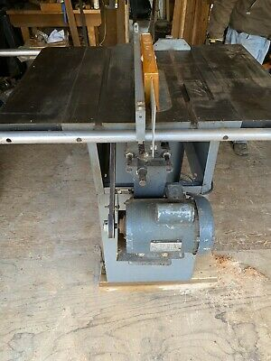 "DELTA 10/"" Contractor/'s Table Saw 34-444 Instructions /& Parts Manual 0829"