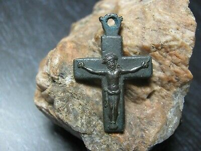 Ancient bronze cross of the 18-19th century